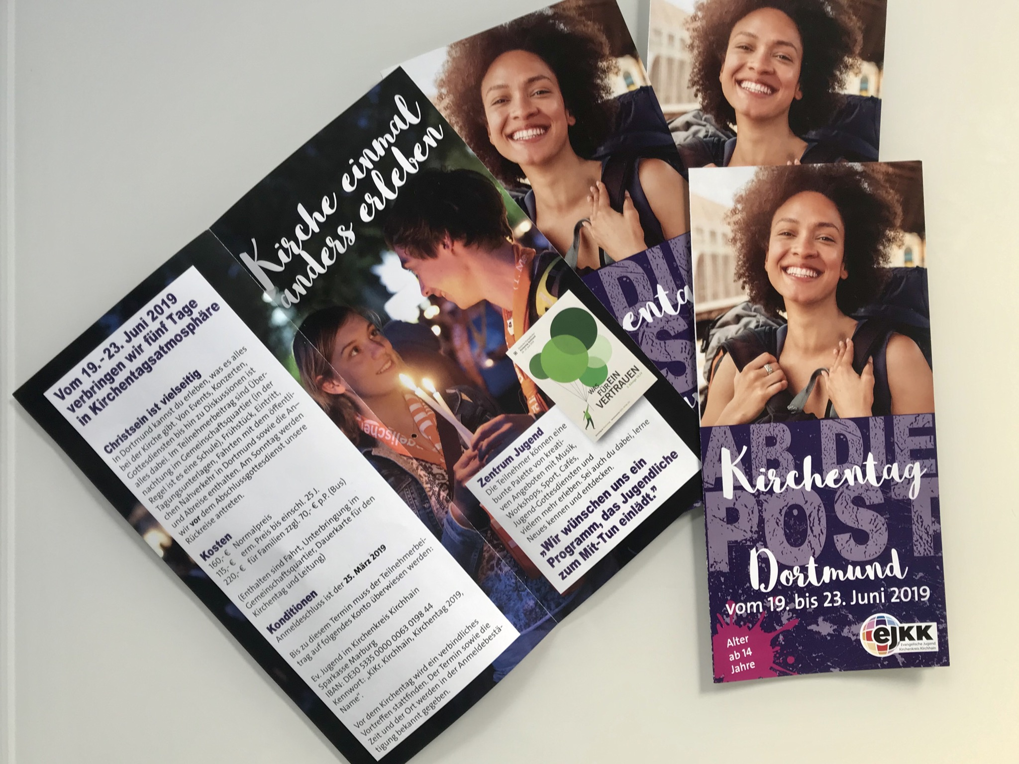Flyer Kirchentag 2019